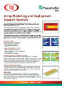 ITP and Fraunhofer IWES Array Modelling and Deployment Support Services Brochure
