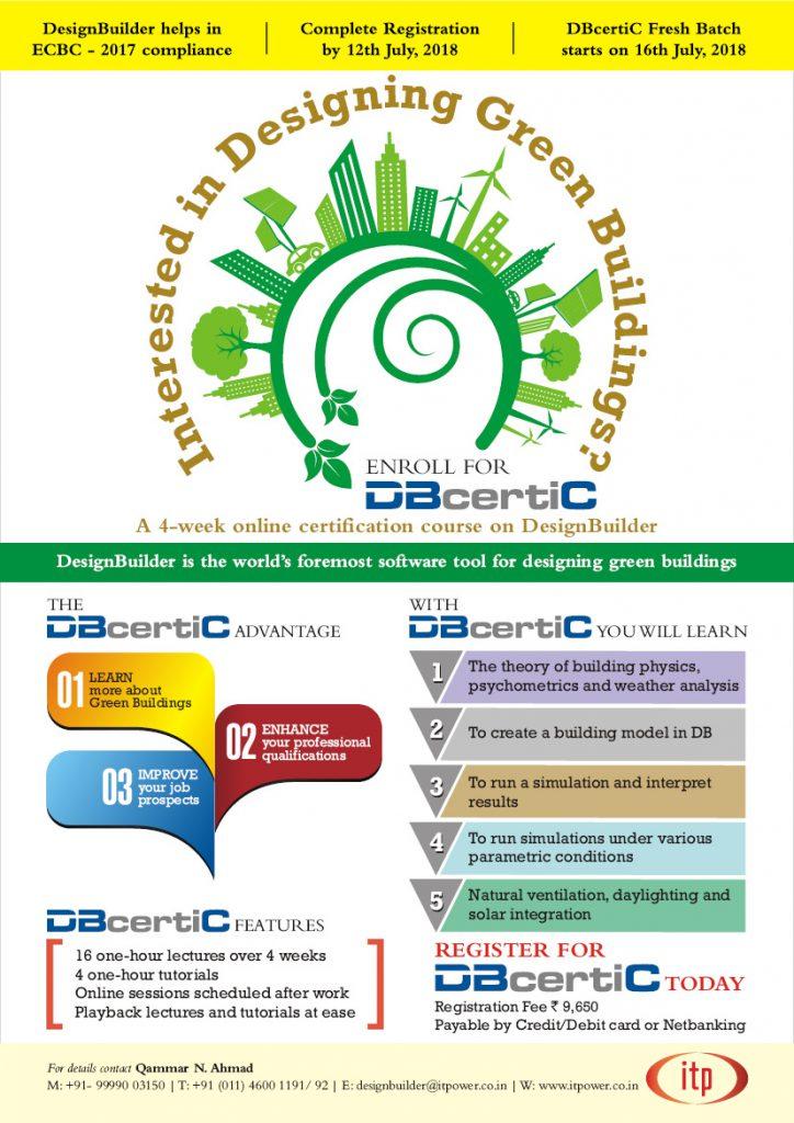 Dbcertic Certification Course On Designbuilder A Building Energy